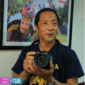 Fotógrafo japonés  visita destinos históricos de nicaragua