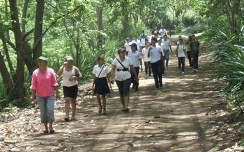 VILLA EL CARMEN OFERTA A LOS MANAGUAS  TURISMO RURAL COMUNITARIO