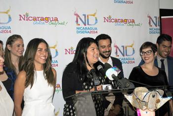 NICARAGUA DISEÑA 2014 PRESENTA AL TALENTOSO EQUIPO DE DISEÑADORES
