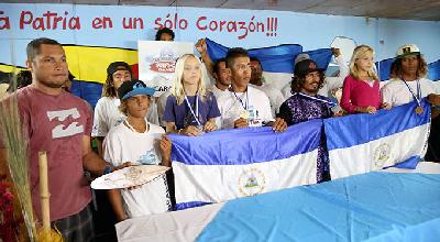 Surfistas nicas conquistan tercer lugar en Centroamericanos