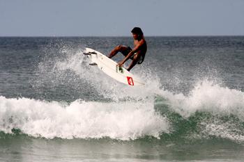 TODO LISTO PARA EL MUNDIAL DE SURF EN PLAYA POPOYO