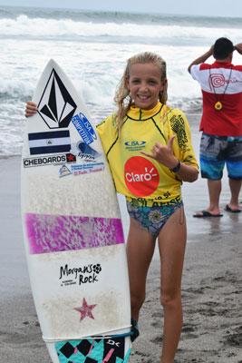VALENTINA RESANO UNA ESPERANZA PARA  EL IV CAMPEONATO DE SURF