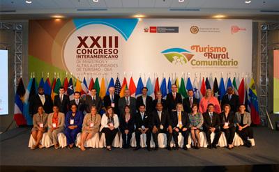 NICARAGUA PARTICIPA EN XXIII CONGRESO INTERAMERICANO  DE MINISTROS Y ALTAS AUTORIDADES DE TURISMO