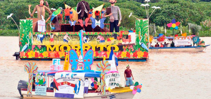 EXITOSO VI CARNAVAL ACUATICO DE RIO SAN JUAN