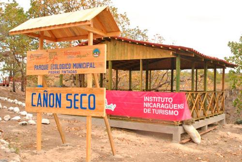 INTUR INAUGURÁ PARQUE ECONLÓGICO PIEDRA PINTADAS EN SOMOTO