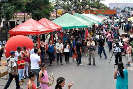 Las ferias en Estelí se estarán realizando cada fin de semana en alianza con los diferentes sectores público-privados