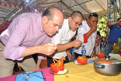 El jurado estuvo integrado por los chefs Nelson Porta, Carlos Ugarte y Silvio Arevalo