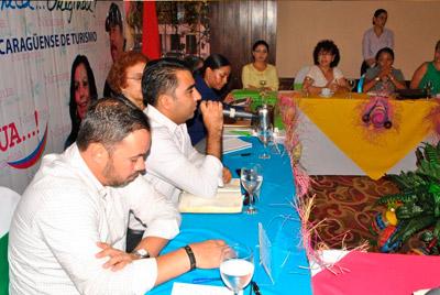 INTUR Y SECTOR PRIVADO DISCUTEN LA ESTATEGIA DE PROMOCIÓN TURÍSTICA DE NICARAGUA