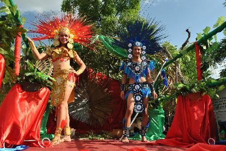Novena edición del carnaval de mitos y leyendas en Somoto 2016, un éxito
