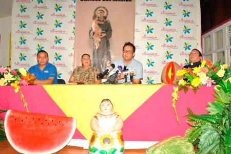 INTUR PROMUEVE LA CULTURA Y LA RELIGIOSIDAD A TRAVÉS DE LAS CELEBRACIONES DE SAN ANTONIO DE PADUA