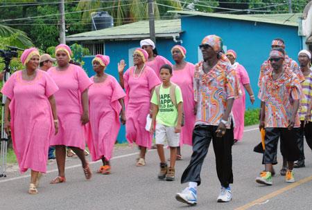 Caribe Sur visita El Rama por Amor a Nicaragua