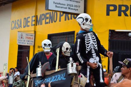 LOS MITOS Y LEYENDAS RECORREN LAS CALLES DE MASAYA EN UNA FIESTA CULTURAL LLENA DE TRADICIÓN Y COLOR