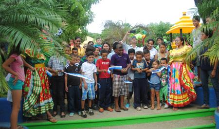 Inauguran obras de mejoramiento del Parque Gaspar García Laviana de San Juan del Sur