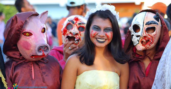 Pueblo de Granada recibe los Mitos y Leyendas de Nicaragua