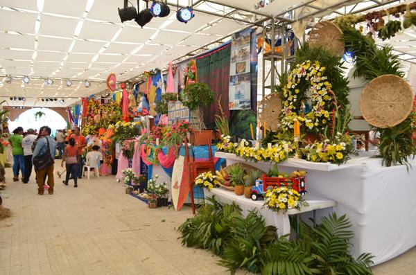 Exposición de Santos Patrones, en Amor a Nicaragua, Orgullo de mi Municipio
