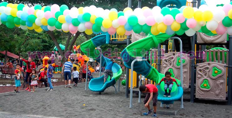INTUR inaugura áreas de juegos infantiles y canchas deportivas en centro turístico el trapiche