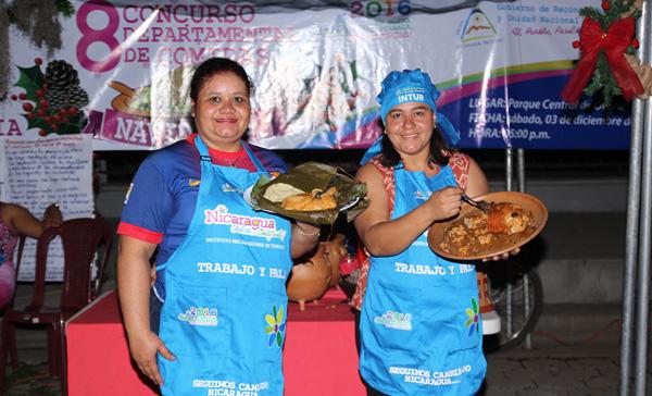 INTUR realiza 8vo Concurso de Comidas Navideñas en Ocotal