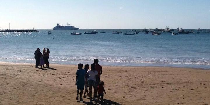 Star Breeze atraca en San Juan del Sur