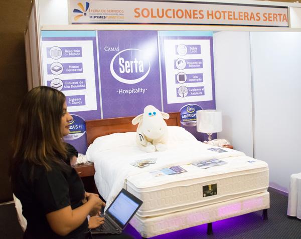 Mipymes turísticas aprovechan feria de servicios financieros y proveedores