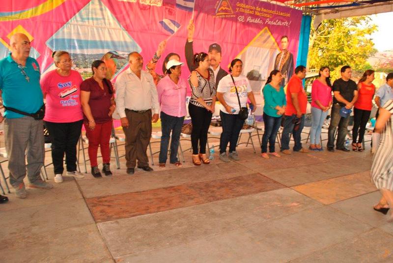 Carazo y Madriz realizan colorido intercambio cultural