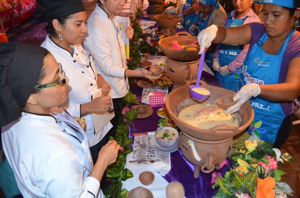¡Sopa marinera! gana concurso de comidas de cuaresma en Carazo