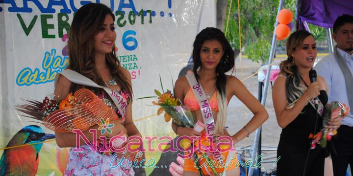 Mateare elige a su Chica Verano Xiloá 2017