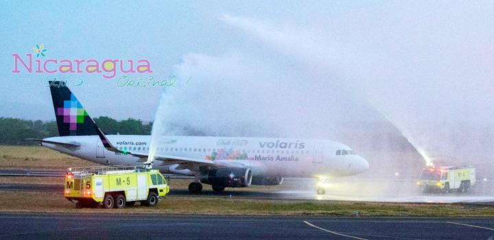 Volaris inicia vuelos entre San José y Managua