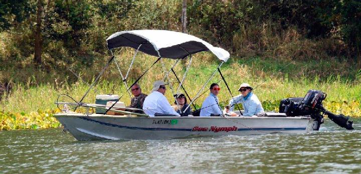 Un centenar de pescadores participan en torneo de pesca de Apanás