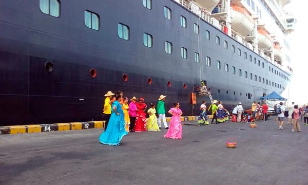 El crucero Ámsterdam