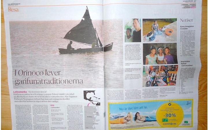 Orinoco, Nicaragua, en prensa finlandesa