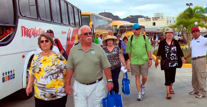 Más cruceristas disfrutan Nicaragua