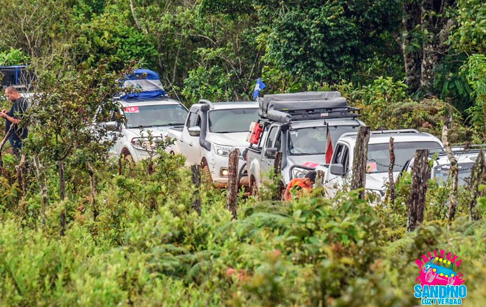 Finaliza Rally 4x4 Sandino Luz y Verdad