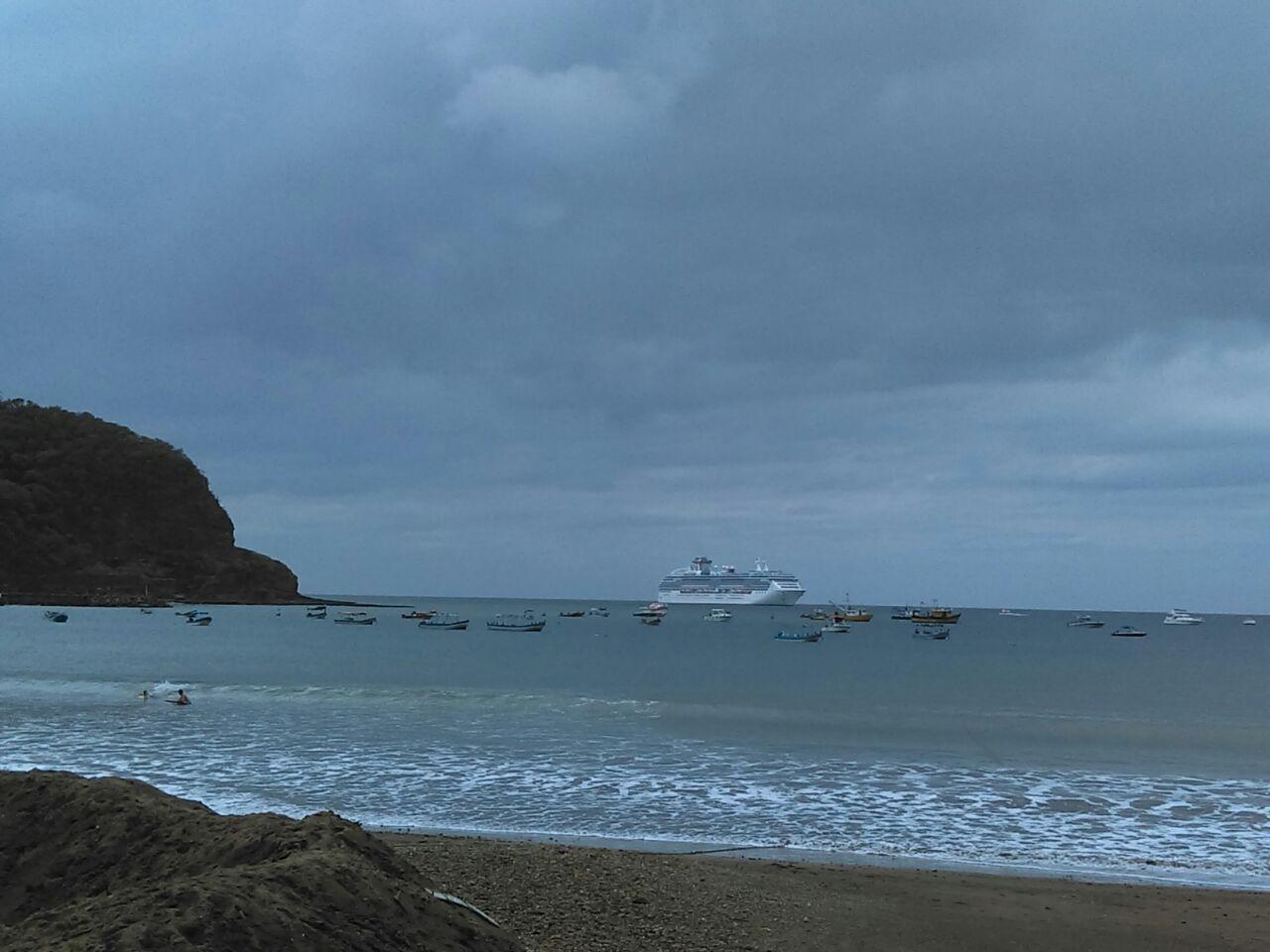 Coral Princess llega a San Juan del Sur (3