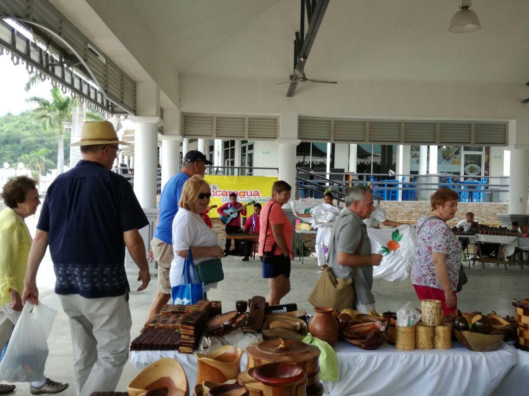 Coral Princess llega a San Juan del Sur