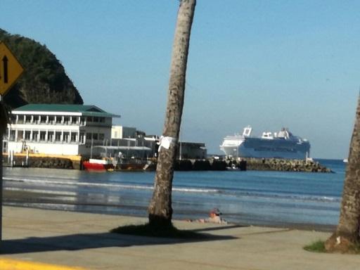 Nicaragua recibe crucero Island Princess