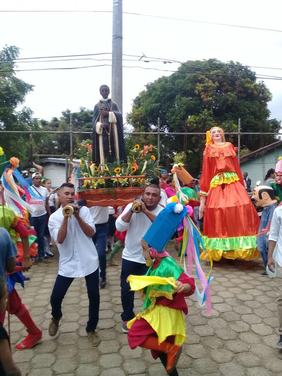 Rivas celebra a San Martín de Porres