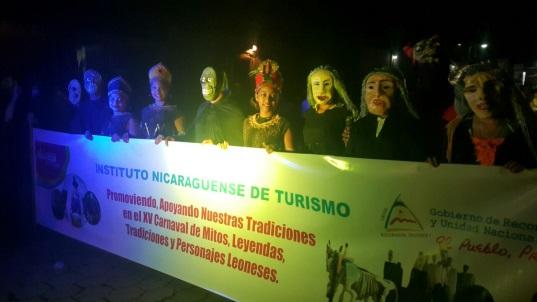 XV Carnaval de Mitos y Leyendas en León