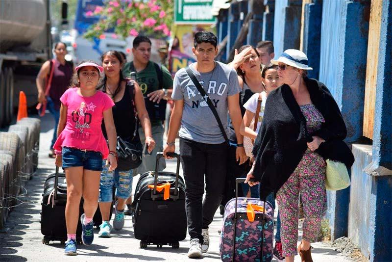 Visitantes a Nicaragua