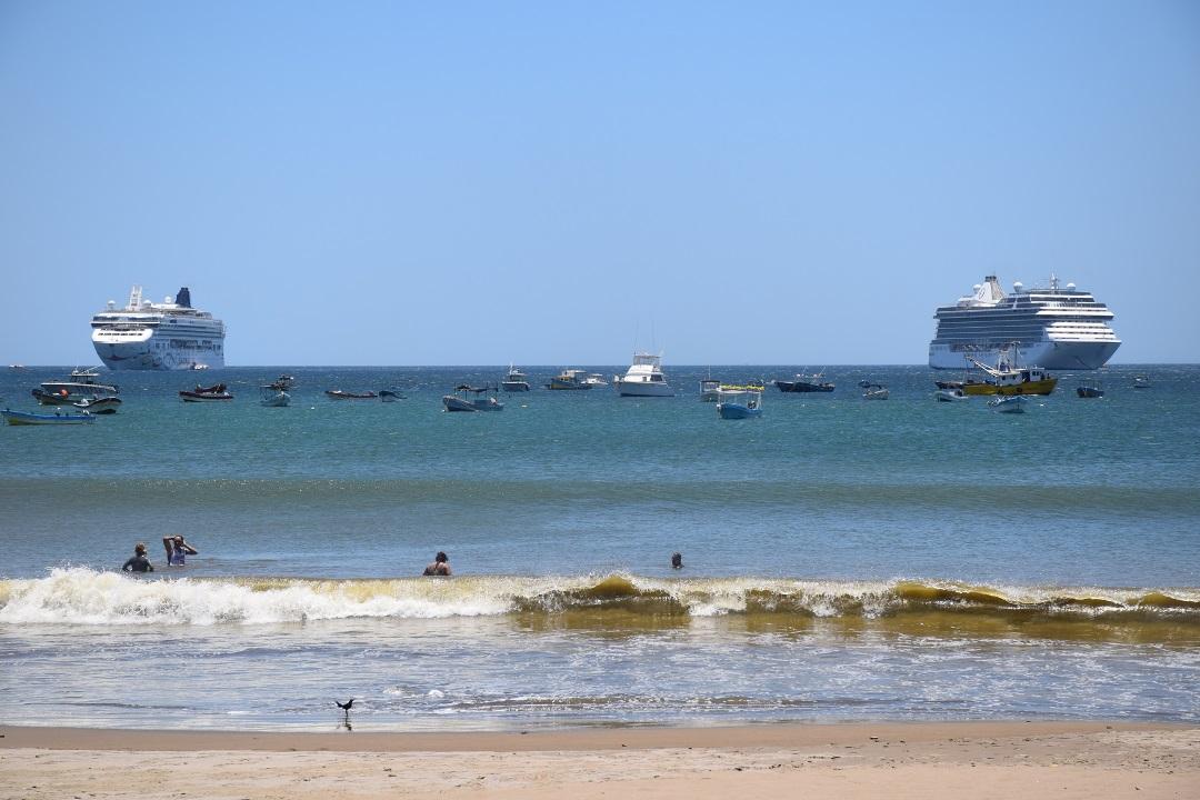 Crucero de lujo recalaba por primera vez en San Juan del Sur