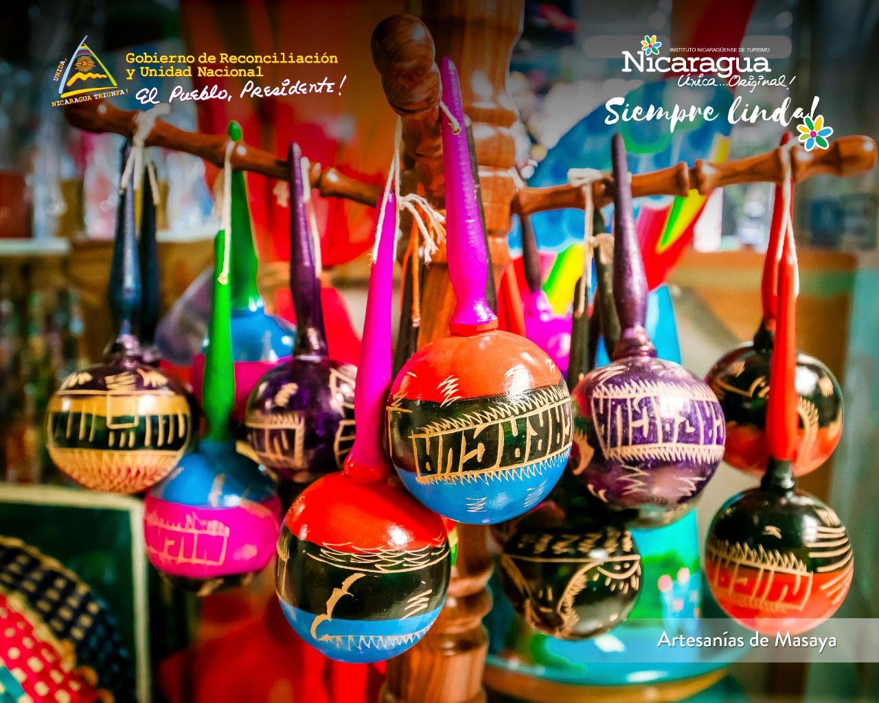Maracas-Nicaragua-Artesania