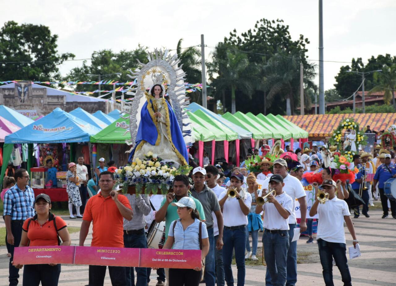Boaco-Chinandega-Santos-Patronos