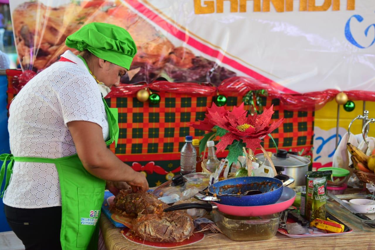 concurso de comida-Nicaragua