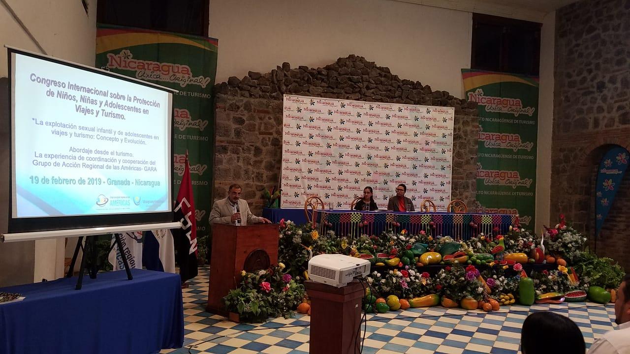 congreso-protección-infantil-turismo-Nicaragua