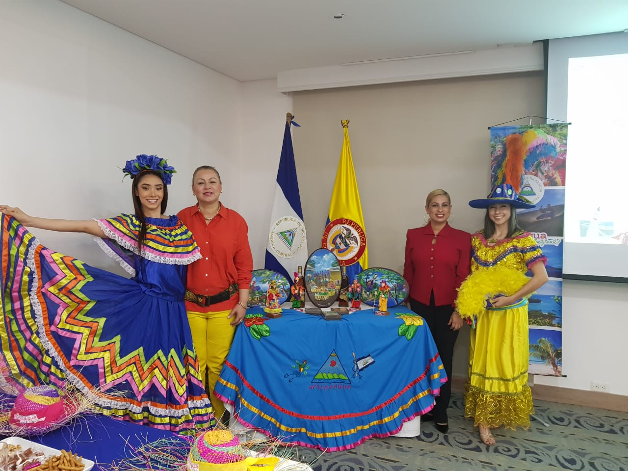 Nicaragua en Colombia