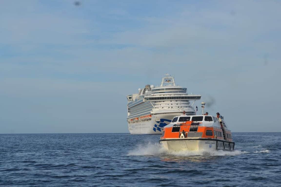 Llegan a Nicaragua cruceros Emerald Princess y Volendam