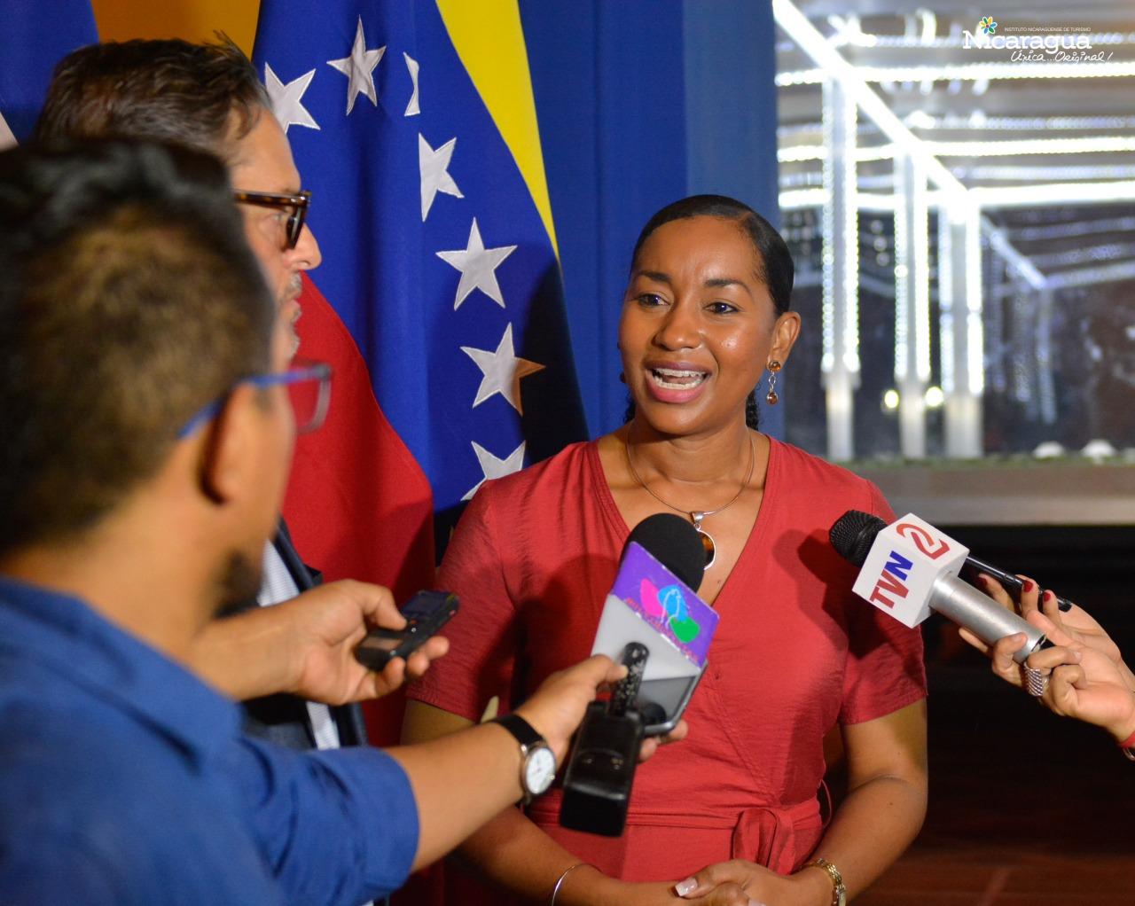 vMinistro de turismo venezuela en Nicaragua