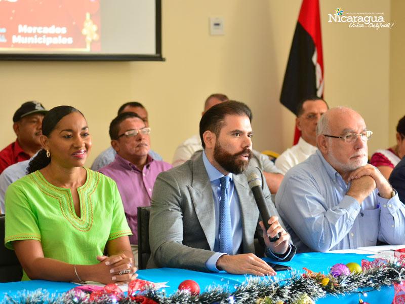 La mañana del 10 de octubre, diversas instituciones de gobierno y representantes del comercio nicaragüense anunciaron el inicio de la temporada navideña 2019 para la que se han dispuesto una serie de actividades recreativas y opciones asequibles de productos.