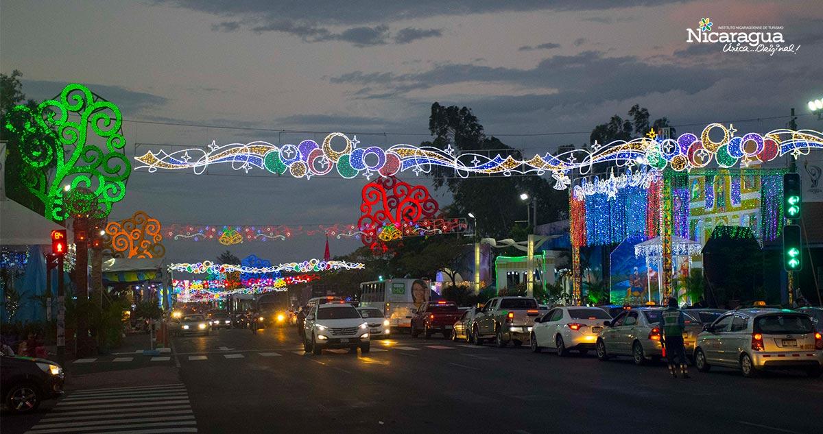 Nicaragua se prepara para Navidad