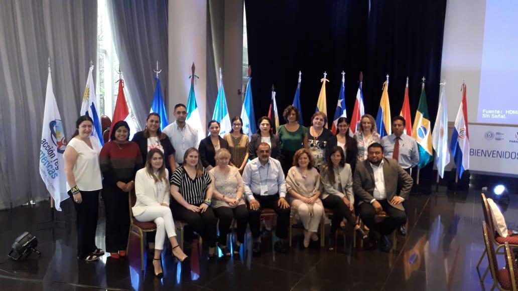 Nicaragua en XII reunión presencial del GARA-2019