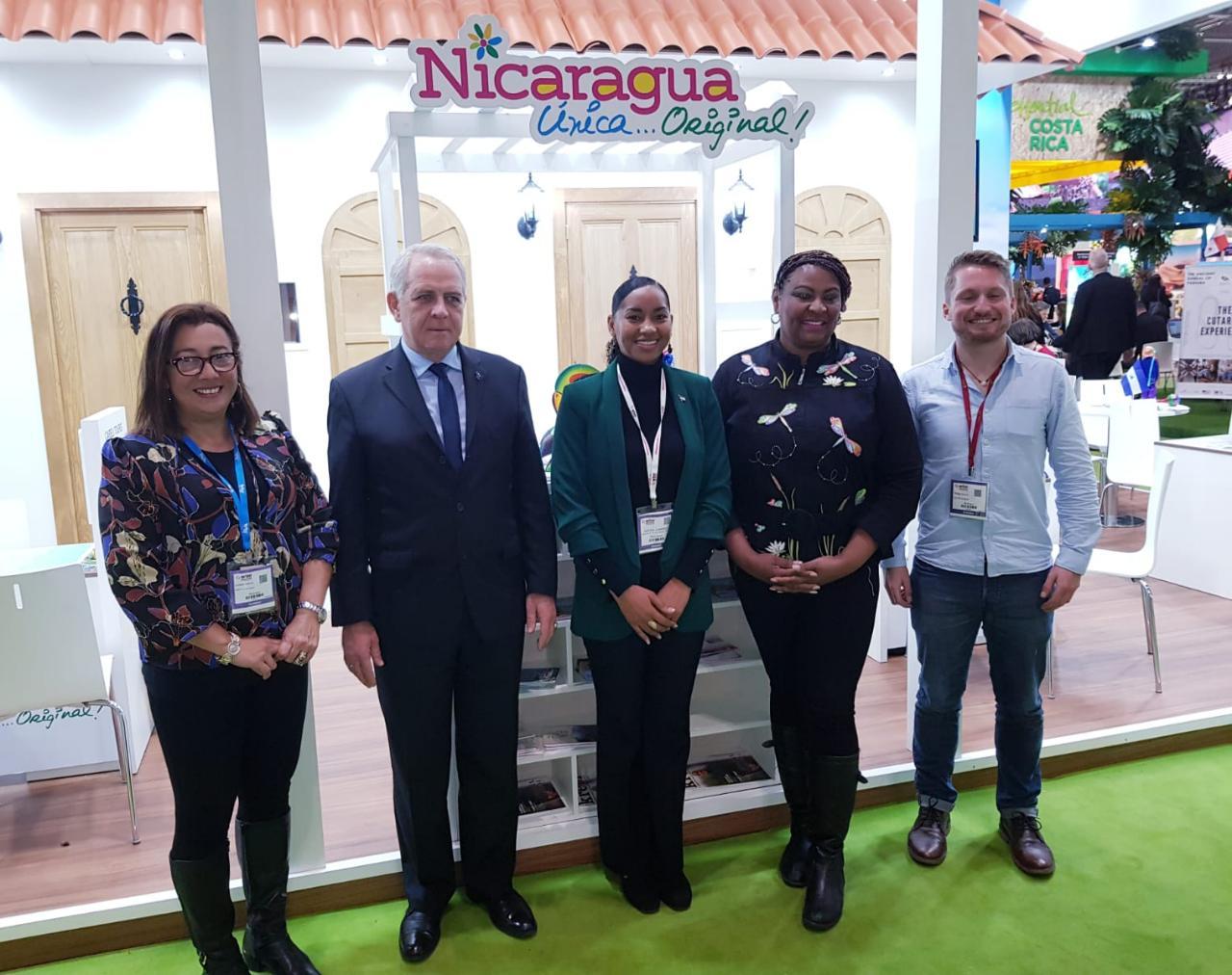 Nicaragua participa en Inglaterra en la WTM London